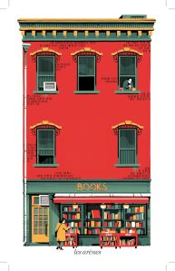 The red bookshop