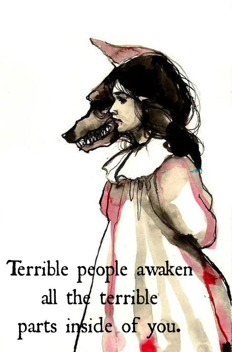 Terrible people