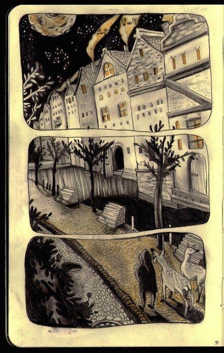 Moleskin sketchbook