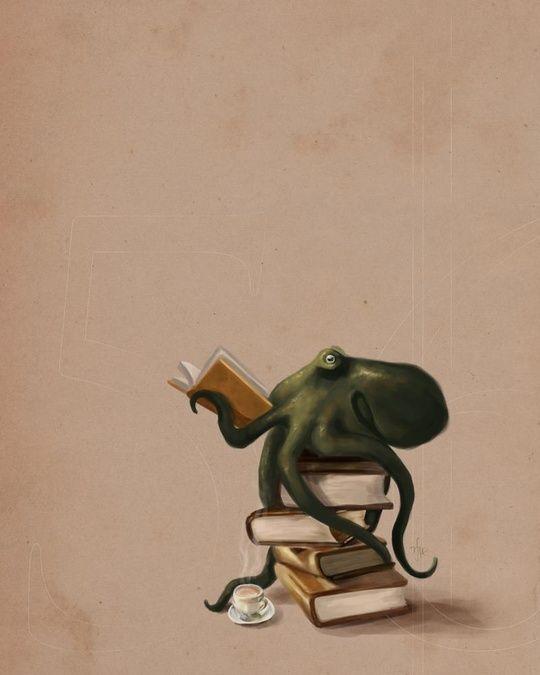 Well Read Octopus